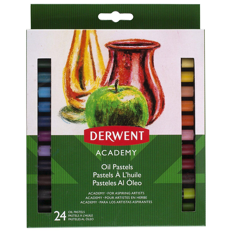 Shop derwent academy pastels oil 24 pack 9 at artsy