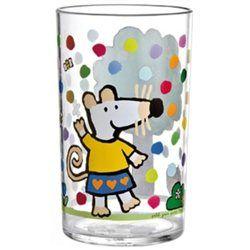 Verre acrylique transparent Mimi la souris