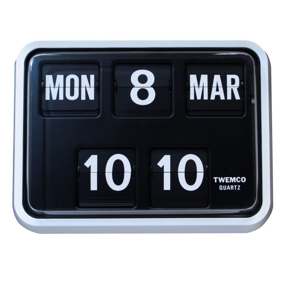 Fartech Wall Flip Clock (S (With images) | Flip clock ...
