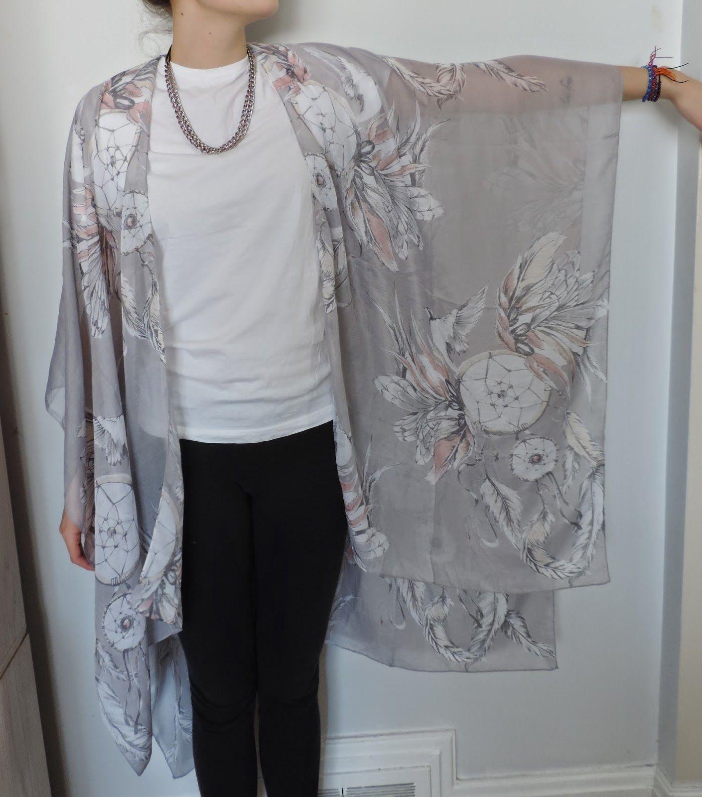 vintage rose : DIY Kimono | Kimono | Pinterest | Upcycling kleidung ...