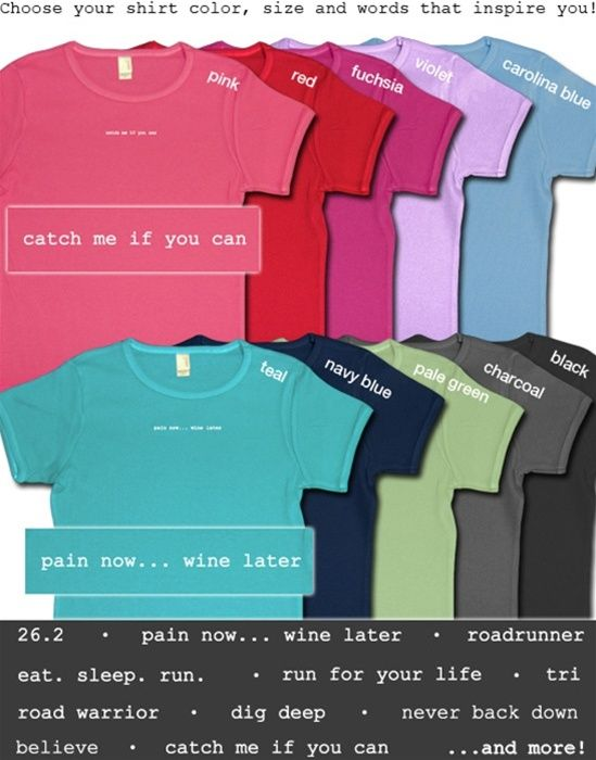 excellent running mantra tees