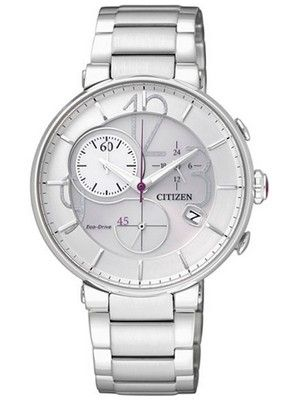 90edb7222dd Citizen Eco-Drive Chronograph FB1200-51A Womens Watch