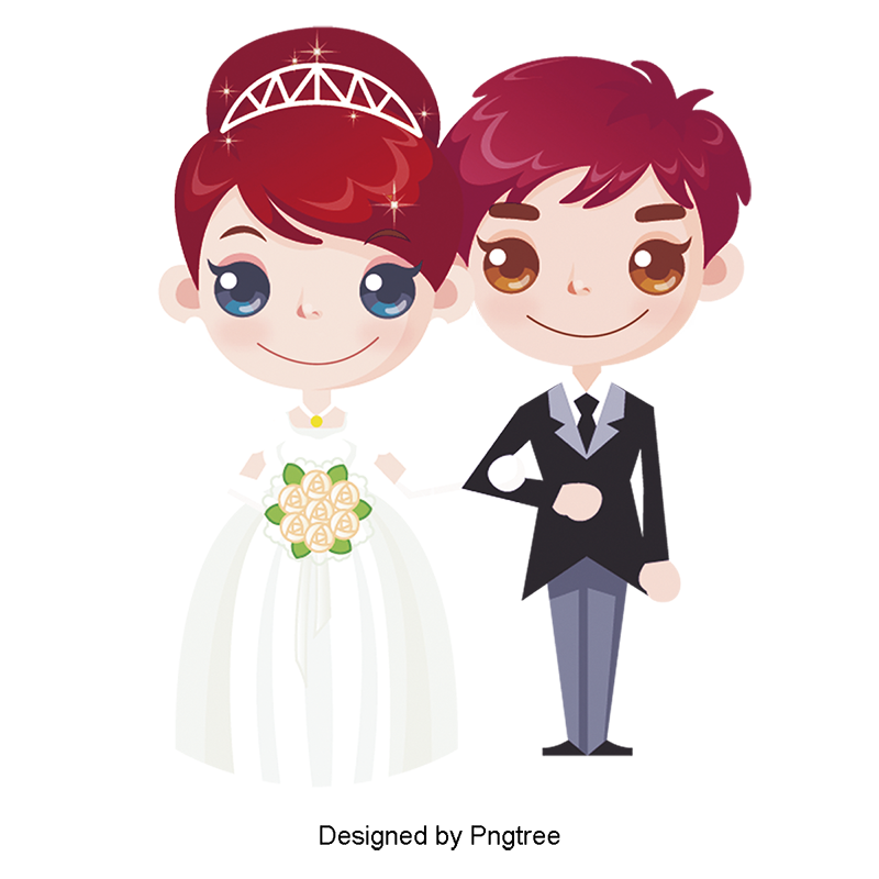 الكرتون الإبداعية زفاف زوجين الزواج العروس زوجين الكرتون كارتون جميل Png وملف Psd للتحميل مجانا Couple Cartoon Cartoon Wedding Anniversary Greeting Cards