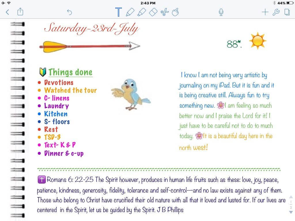 Coloring book for notability - Ipad Planning Bujo Journaling In Notability