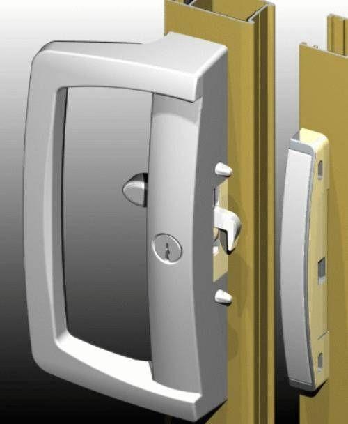 Keyed Interior Sliding Door Lock For The Home Pinterest