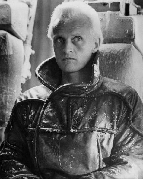 Actor Rutger Hauer in a scene from the movie...