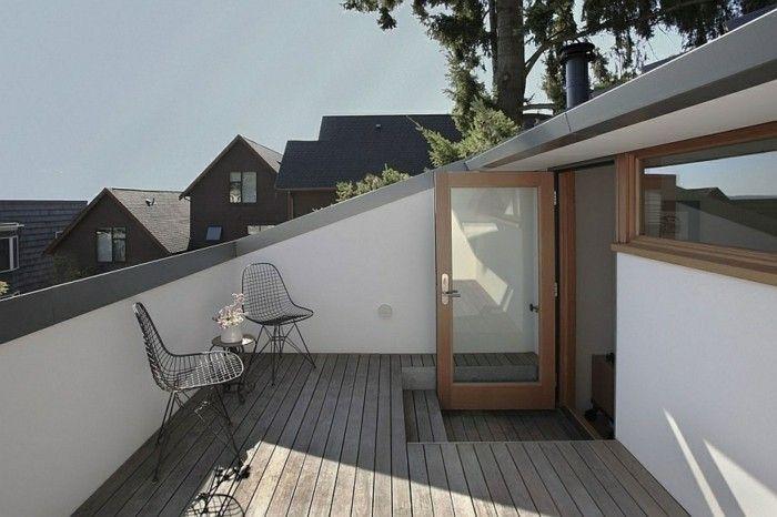 1001 conseils et mod les pour am nager une terrasse trop zienne in 2018 attics balconies. Black Bedroom Furniture Sets. Home Design Ideas
