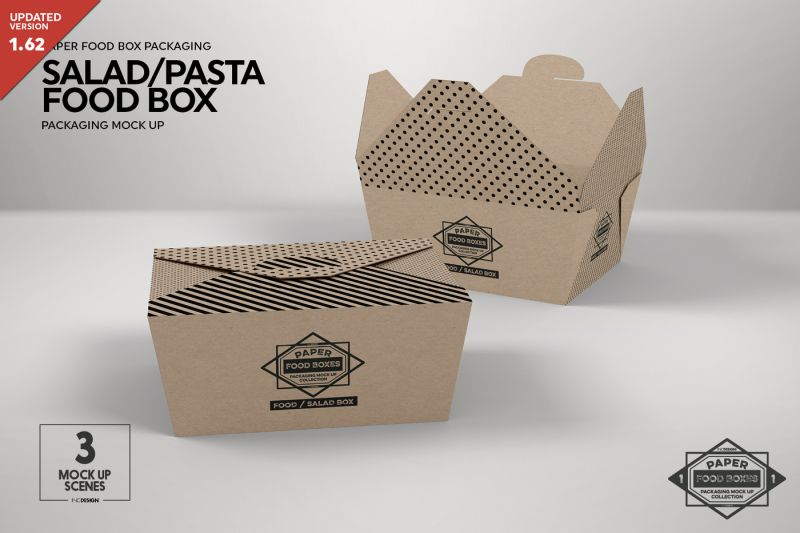 Download All Psd Mockup Templates 4650 Beautiful Branding Mockup Templates For Download Free Free Packaging Mockup Design Mockup Free Food Box Packaging