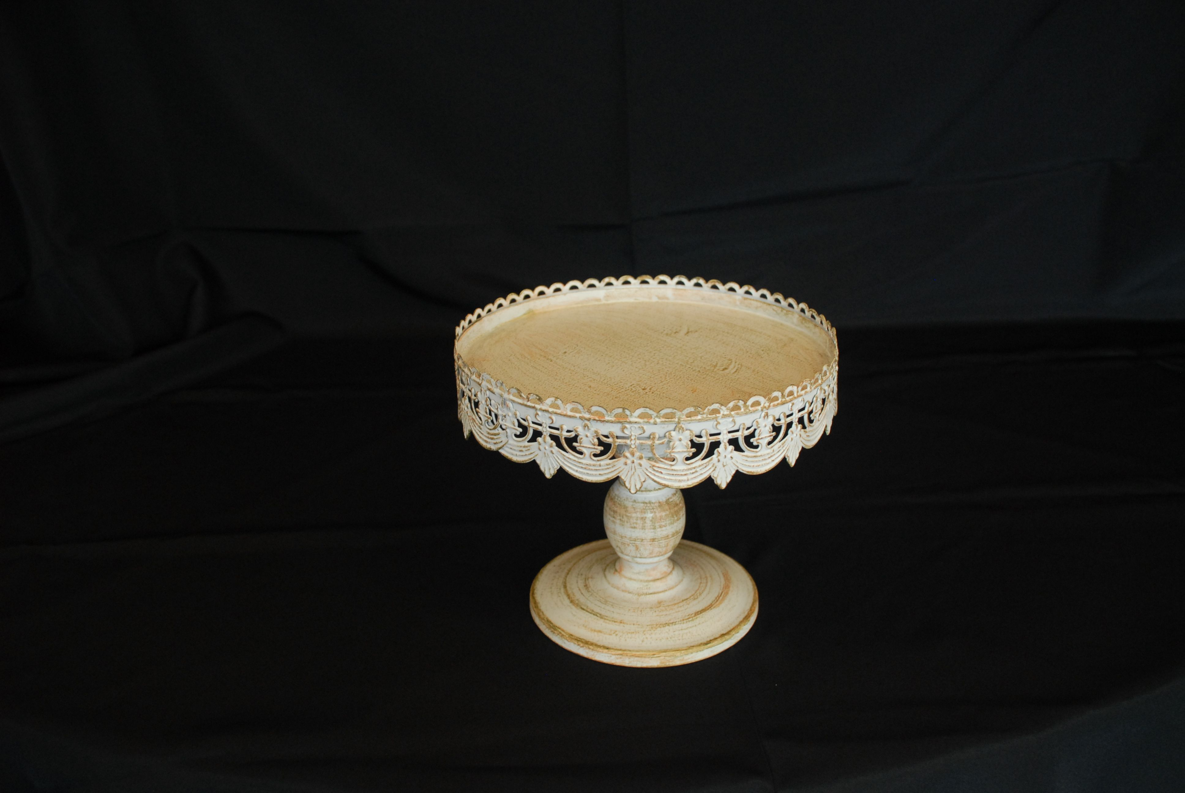 Antique Cake Stand 10""