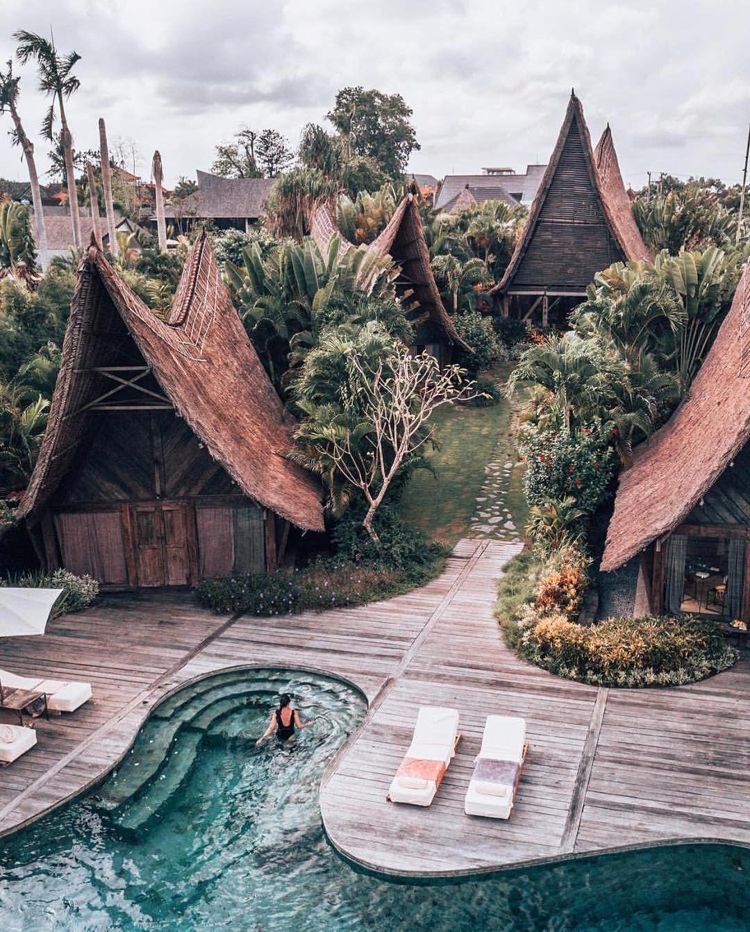 Village Escape Own Villa Canggu Bali Adventure Travel Places To Travel Beautiful Places