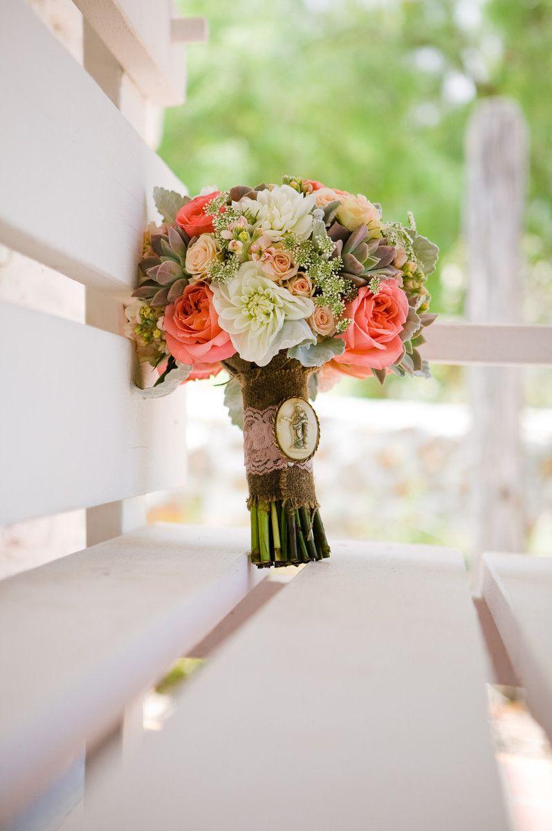 flowers garden rose, succulent, dahlia, spray roses, queen annes lace Bridal bouquet http://mysplendidsentiments.com