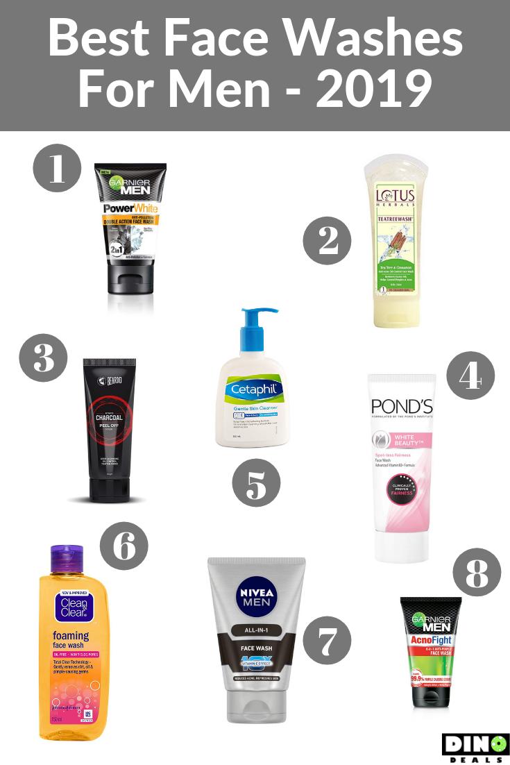 Best Face Washes For Men 2019 Best Face Wash Face Wash For Men Best Face Products