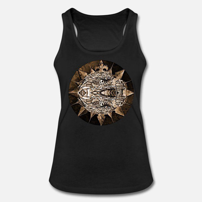Wappen, Adler, Gothic Frauen Bio Tank Top von Stanley