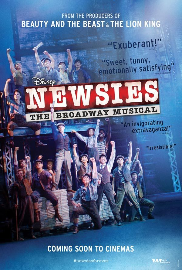 Image result for newsies recording