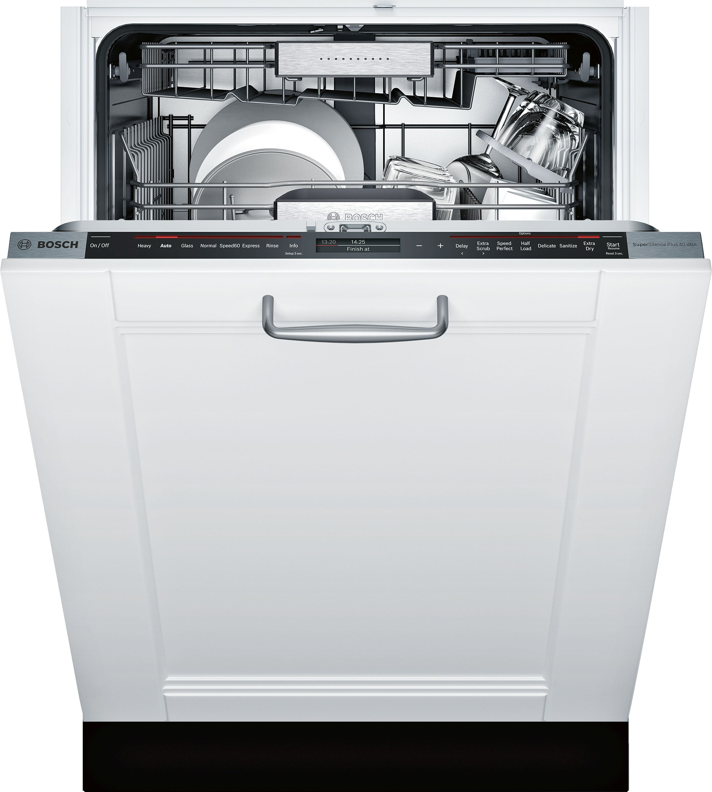 Bosch Shv89pw53n Dishwasher Steel Tub Built In Dishwasher Integrated Dishwasher