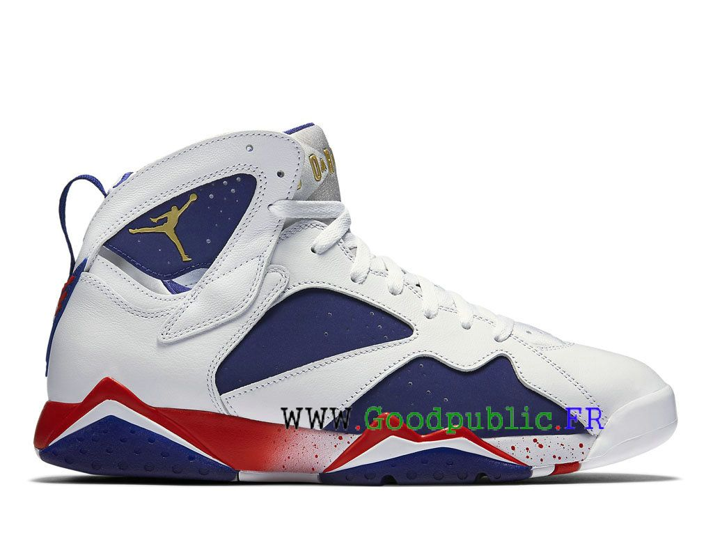 basket nike air jordan 7 retro bleu