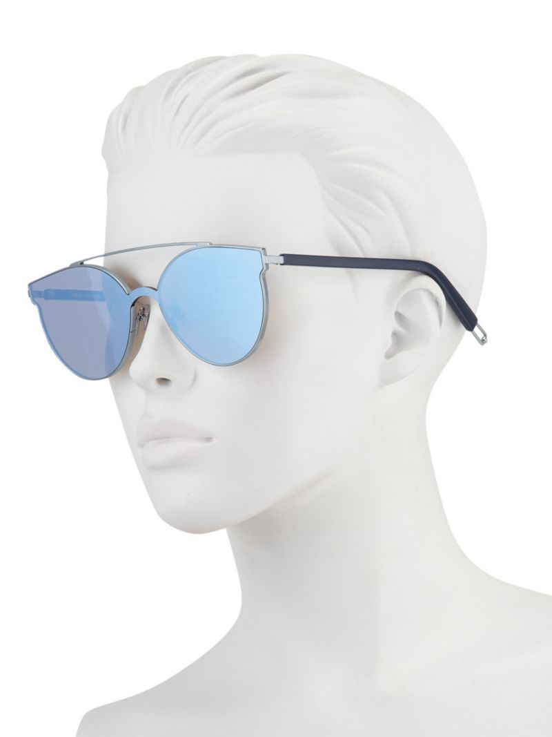 a377d66218d Gentle Monster x Tilda Swinton Trick of the Light Mirrored Sunglasses in  Blue