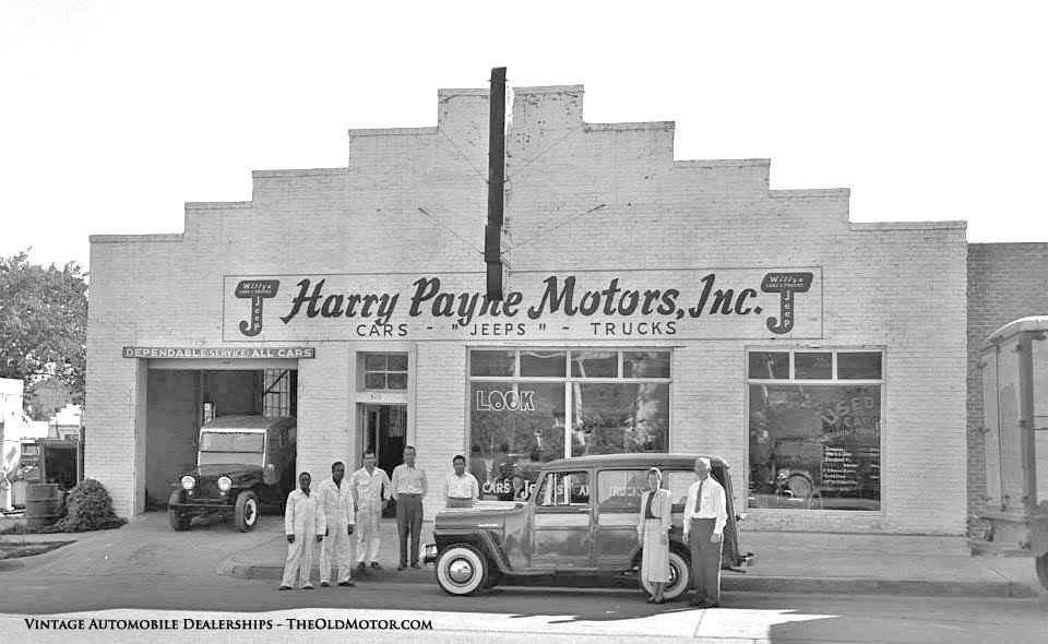 Automobile Dealerships from the Twenties through the