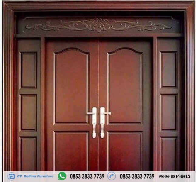 Pintu Rumah Kupu Tarung Minimalis Terbaru Model Dan Desain Kusen Daun Pintu Rumah Kupu Tarung Minimalis Terbaru Bahan Kayu Jati Tpk Harga Minimalis Pintu Rumah