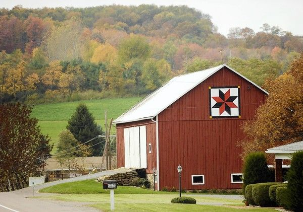 Barn quilts: Western Maryland driving tour highlights rising stars ... : quilt patterns on barns - Adamdwight.com
