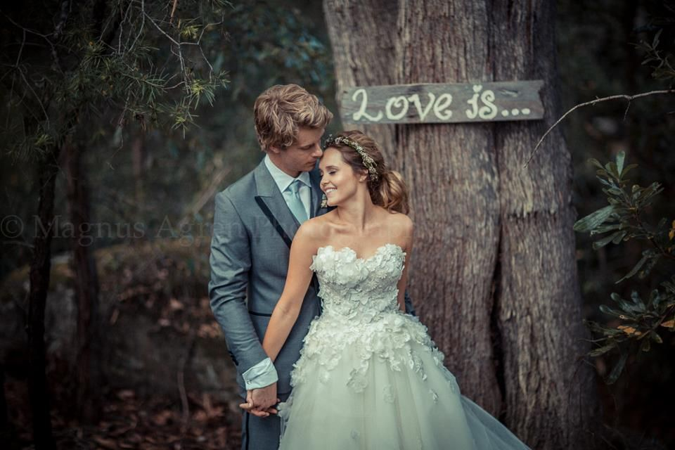 Luke Mitchell Wedding