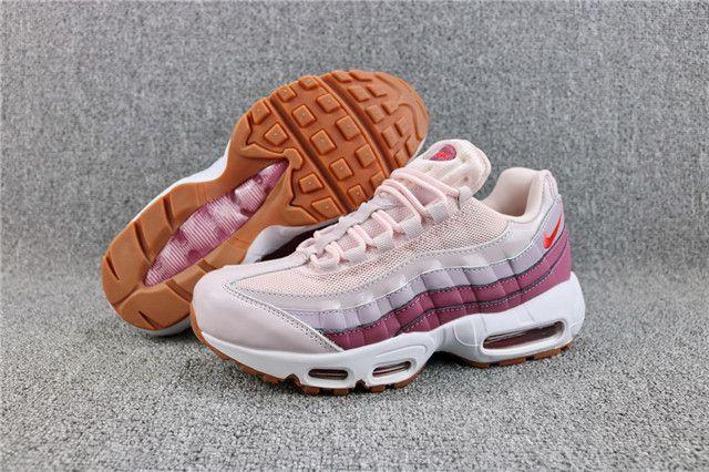 Nike Air Max 95 OG Womens Barley Rose Hot Punch Pink 307960 603