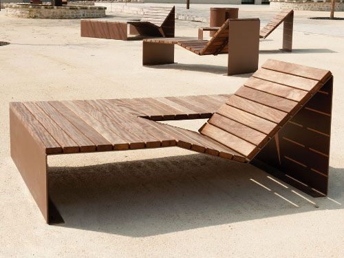 mobilier urbain bain de soleil duo variante absolut cr ation originale cyria max pinterest. Black Bedroom Furniture Sets. Home Design Ideas