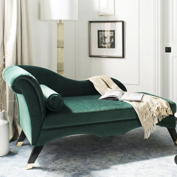 Retro Chaise Lounge | Velvet chaise lounge, Furniture ...