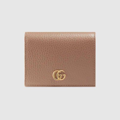 a8c521e46ea8 GUCCI Gg Marmont Leather Card Case.  gucci  women s small wallets ...