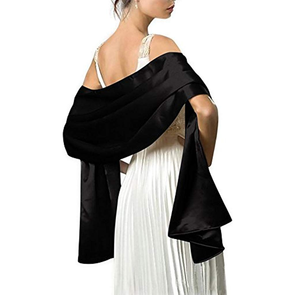 Nouveau en mousseline de soie Wrap étole Châle pour Mariage Mariée Demoiselle d/'honneur /& Soirées Wear