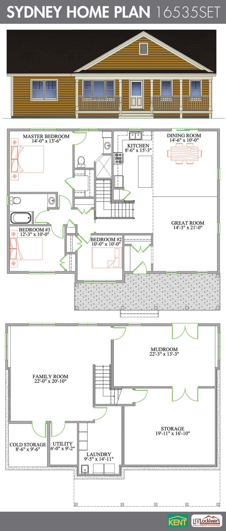Sydney Home Plan Kent Building Supplies House Plans Bungalow House Plans Open Concept Great Room