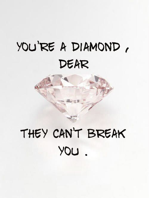 Diamond Quotes Fair Diamond Quotes  Life Qoute  Pinterest  Life Qoute