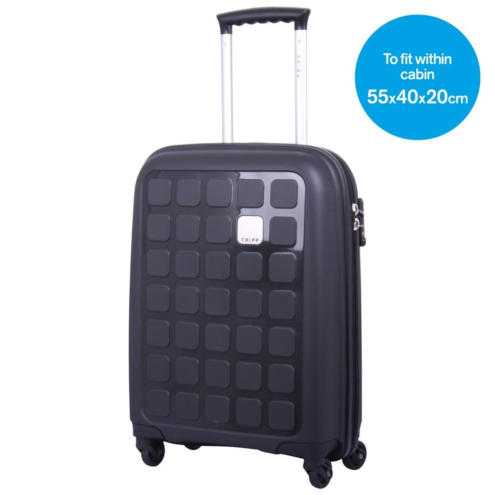 Tripp Holiday 5 4-Wheel Cabin Suitcase Black - Tripp Ltd | travel ...