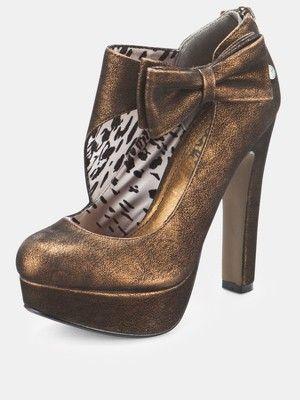 Blink Bow Platform Shoes