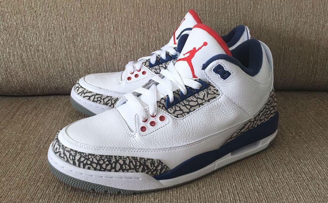 True Blue Jordan 3 Nike Air OG Left 854262 106 | Sneaker