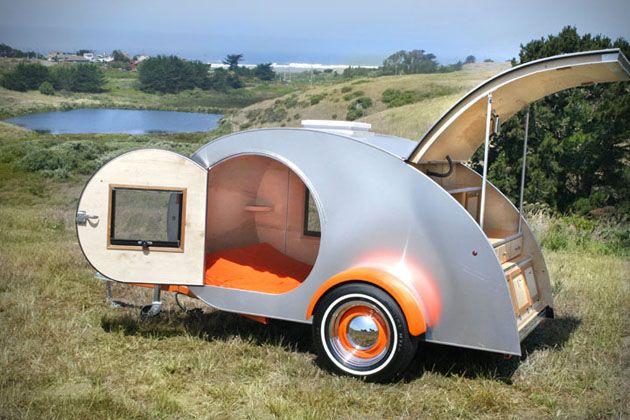Vintage Teardrop Camping Trailers 2 | Mobiltures | Pinterest