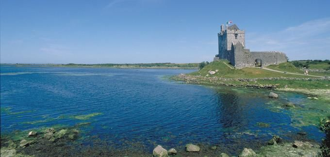 Kilcolgan Castle, Galway, Ireland
