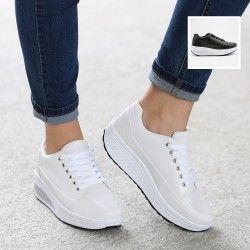 Sneakers fitness a tinta unita | Turnschuhe, Fitness schuhe