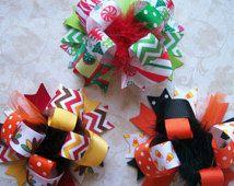 halloween hair bows - Google Search