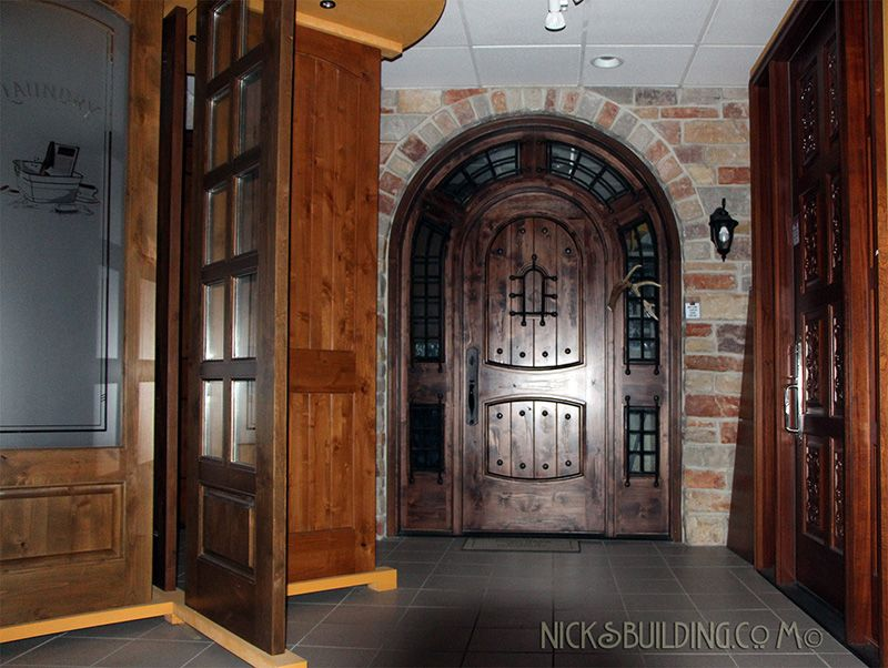 nicks building supply door showroom come see our factory