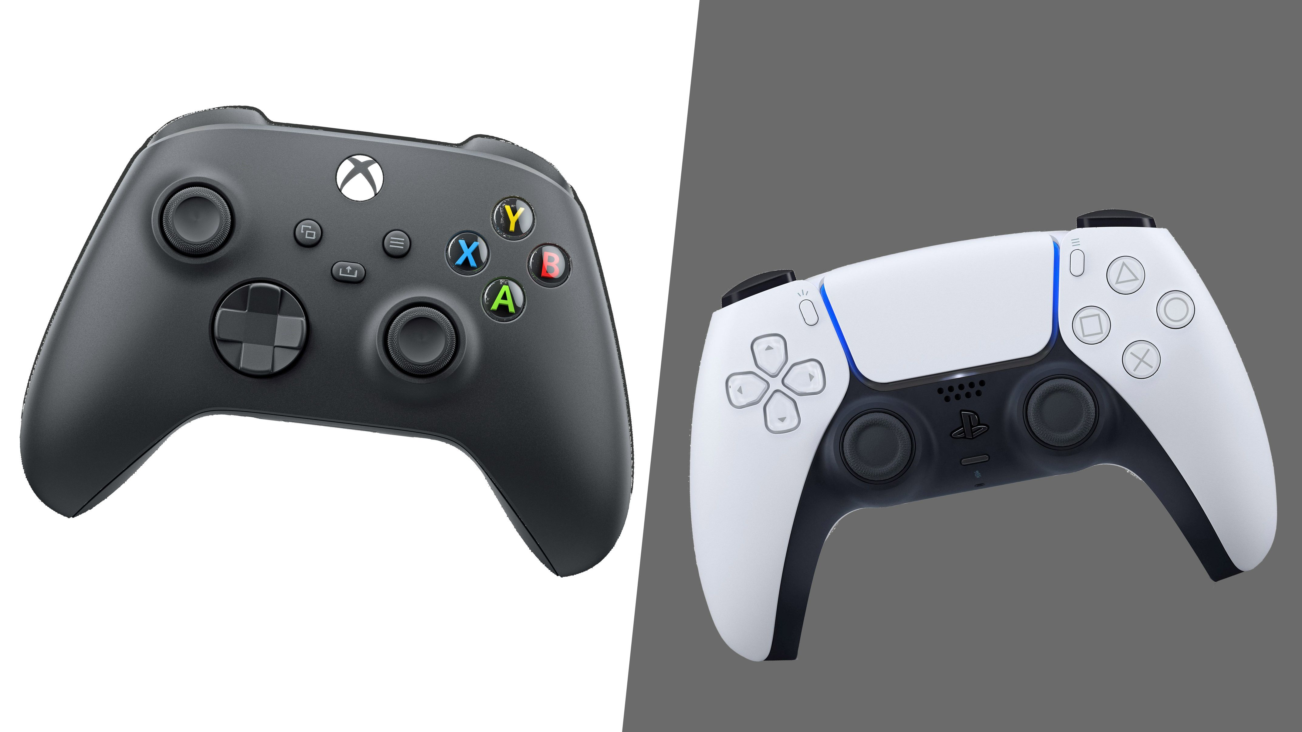Ps5 Dualsense Controller Vs Xbox Series X Controller Which Gamepad Is Better Playstation Controller Xbox Playstation