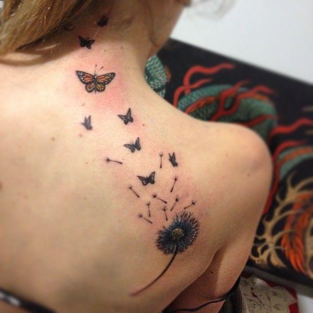 #dandelion #tattoo #elf #butterflies #freedom -  dandelion #tattoo #elf #butterflies #freedom | Flickr – Photo Sharing!  - #butterflies #Dandelion #dandeliontattoodesign #dandeliontattoomeaning #elf #freedom #tattoo