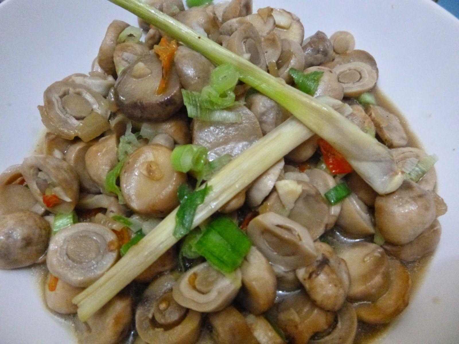 Masak Ala Mom Nayla Tumis Pedas Jamur Kancing Resep Jamur Jamur Kancing Resep Masakan