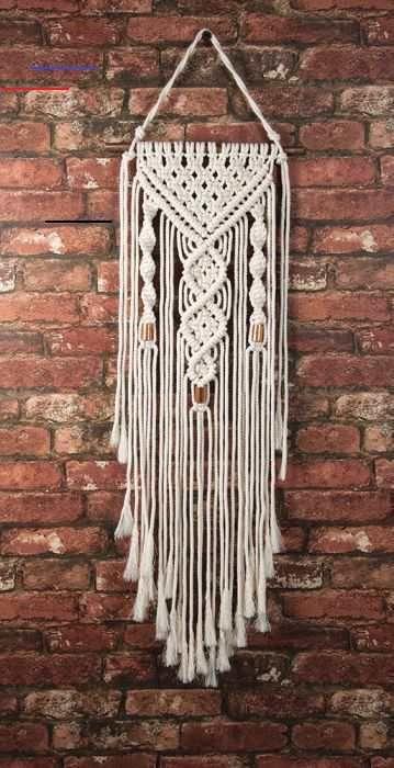 Dual Spirals Macrame Wall Hanging Kit - #macramewallhanging