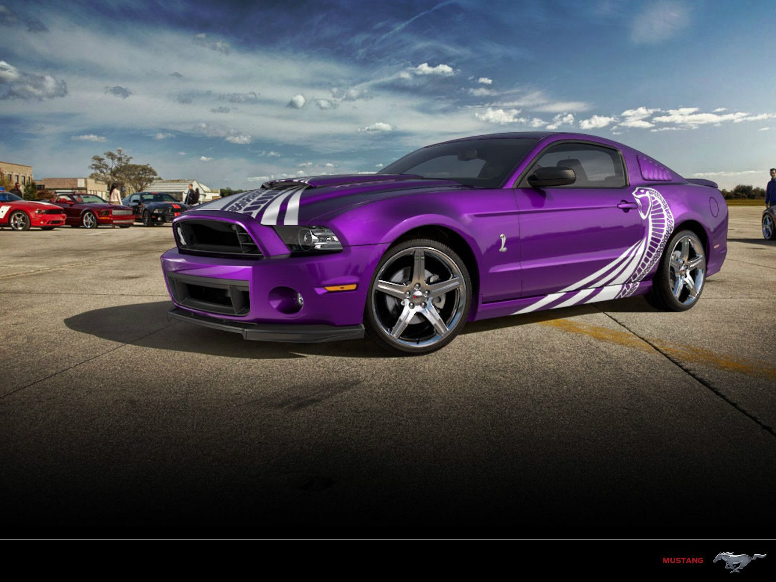Purple mustang cobra i don t usually like mustangs or fords in
