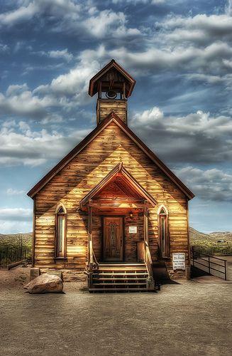 Arizona Church and Sky
