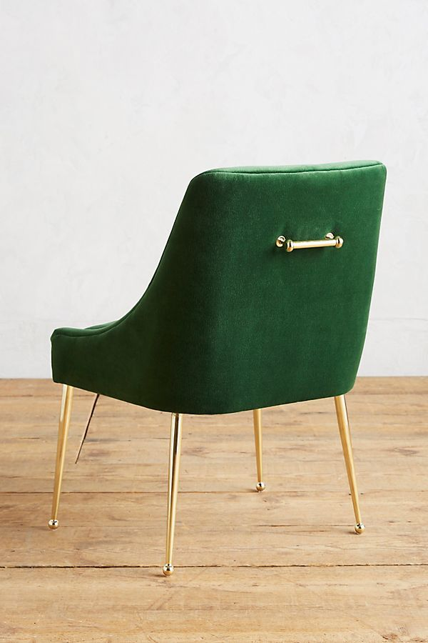 Velvet Elowen Chair by Anthropologie in Pink Size: All ...