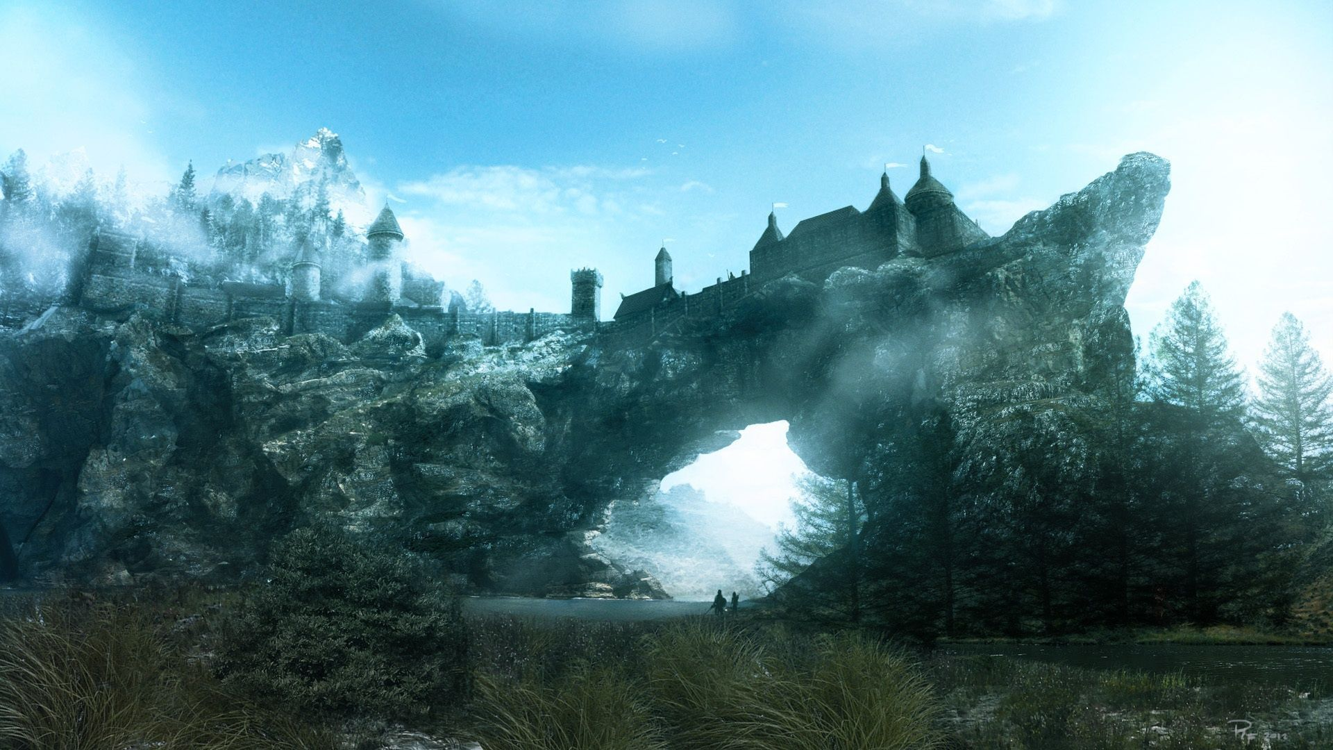 the elder scrolls v: skyrim hd wallpapers backgrounds 1920×1080