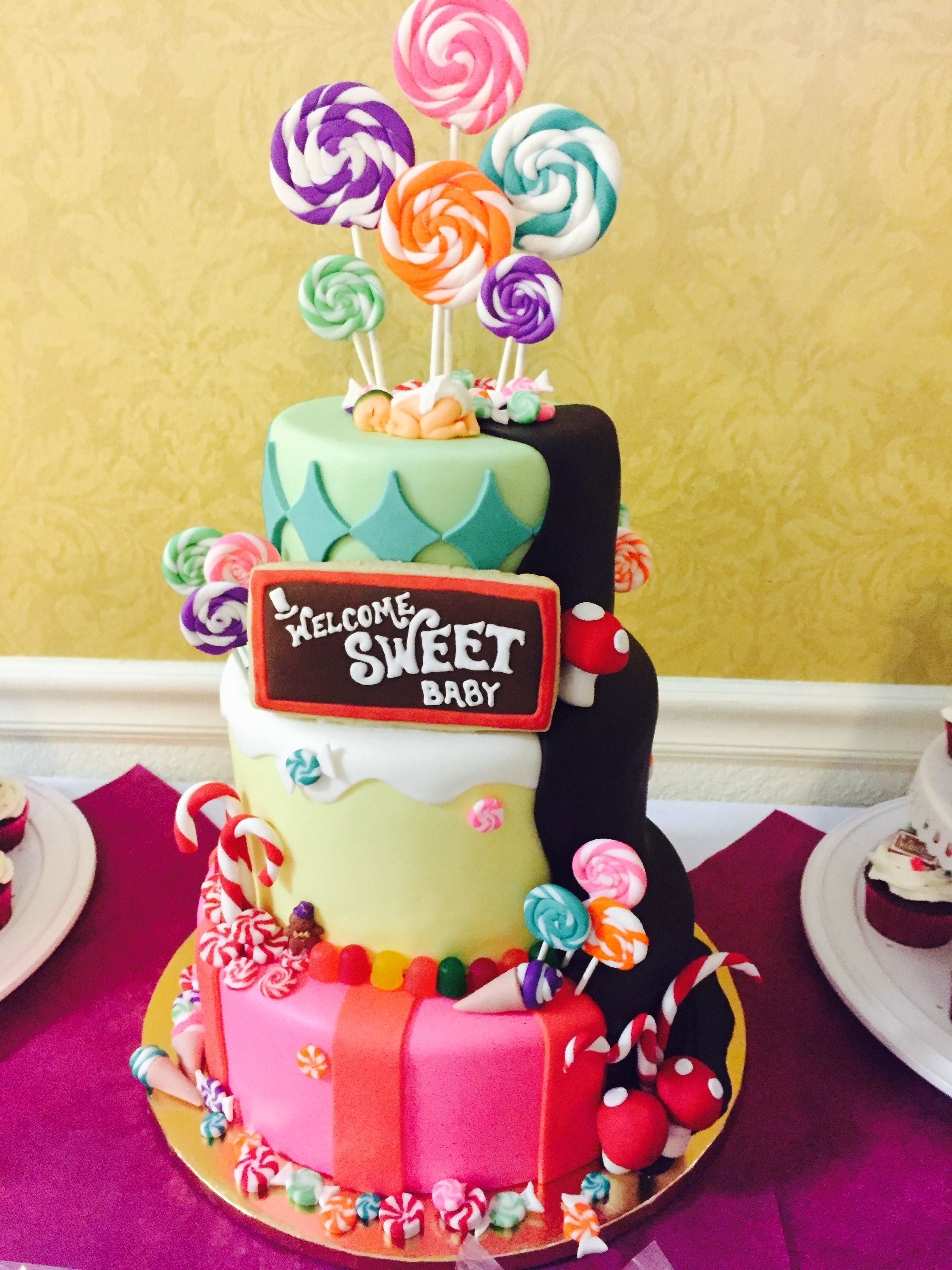 Pin On Malia S Willy Wonka Candyland Baby Shower