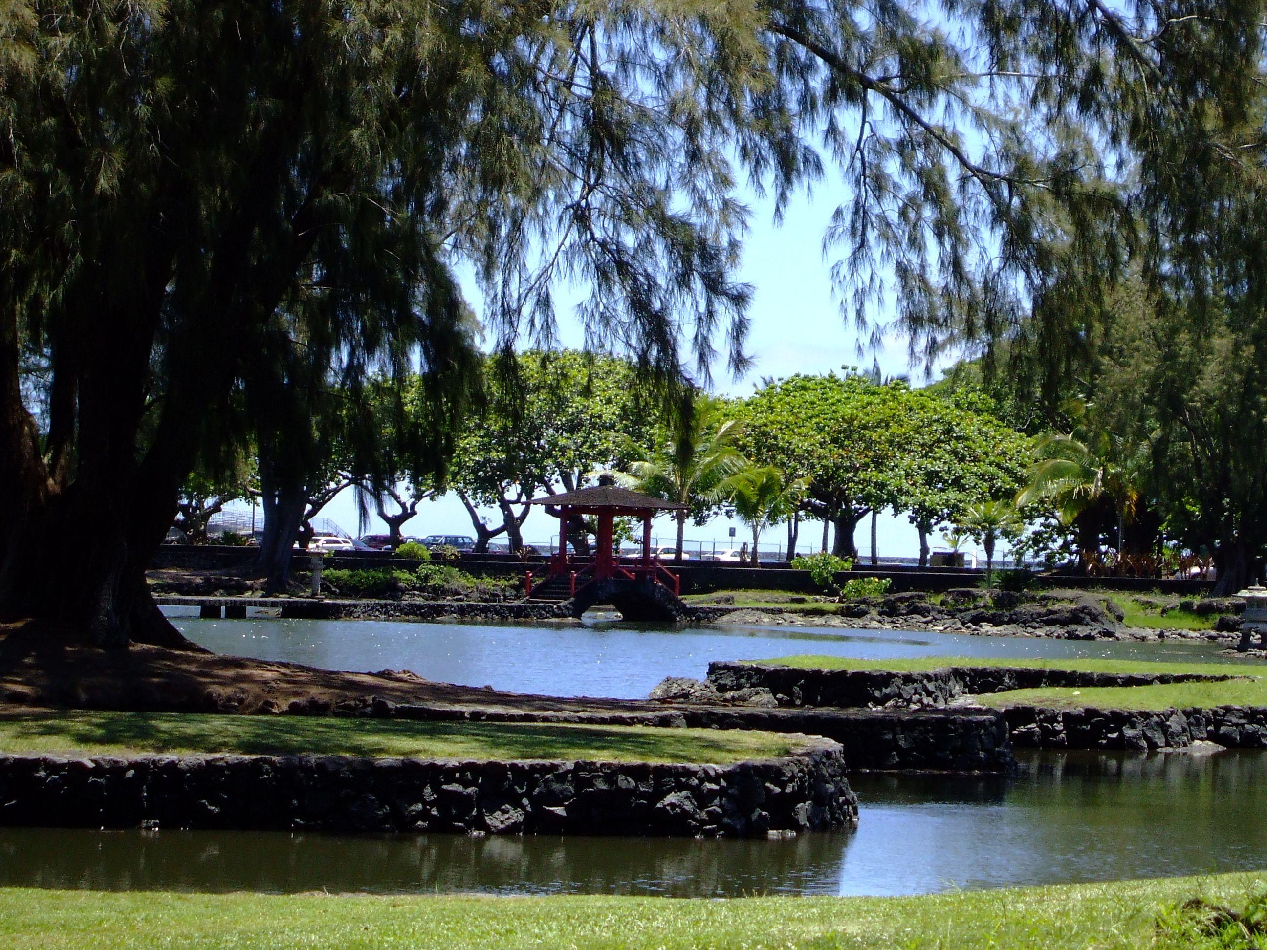 Asian Gardens In Hilo, Hawaii